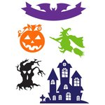 Little B - Halloween -Cutting Dies - Halloween Icons