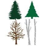 Little B - Cutting Dies - Trees
