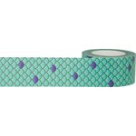 Little B - Decorative Paper Tape - Mermaid Scales - 25mm