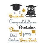Little B - Cutting Dies - Graduation Words