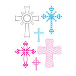 Little B - Cutting Dies - Crosses