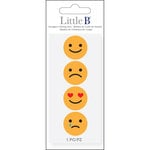 Little B - Cutting Dies - Mini Emoticons