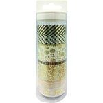 Little B - Decorative Paper Tape - Set - Sea Life Gold Foil Collection