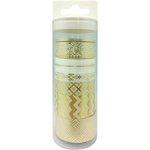Little B - Decorative Paper Tape - Set - Gold Elegance Foil Collection