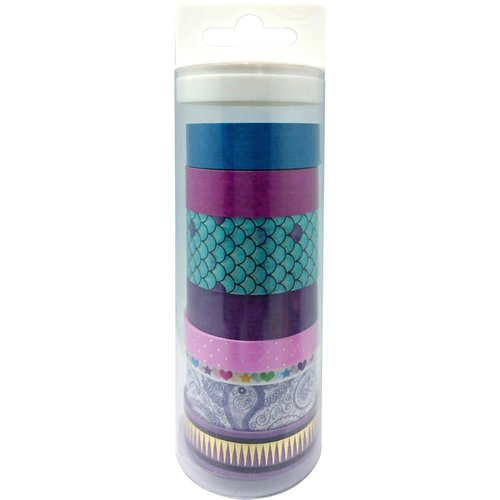 Little B - Decorative Paper Tape - Set - Mermaid Collection