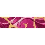 Little B - Decorative Paper Tape - Gold Foil and Magenta Marble - 25mm