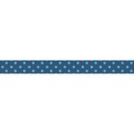Little B - Decorative Paper Tape - Blue and Teal Foil Octagons - 10mm