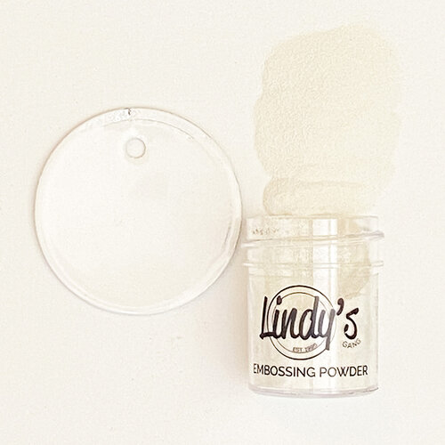 Lindy's Stamp Gang - Embossing Powder - Wowzers White