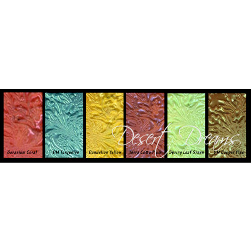 Lindy's Stamp Gang - Embossing Powder - Set - Desert Dreams