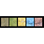 Lindy's Stamp Gang - Magical Set - Powdered Paint - Mermaid Sea Shells