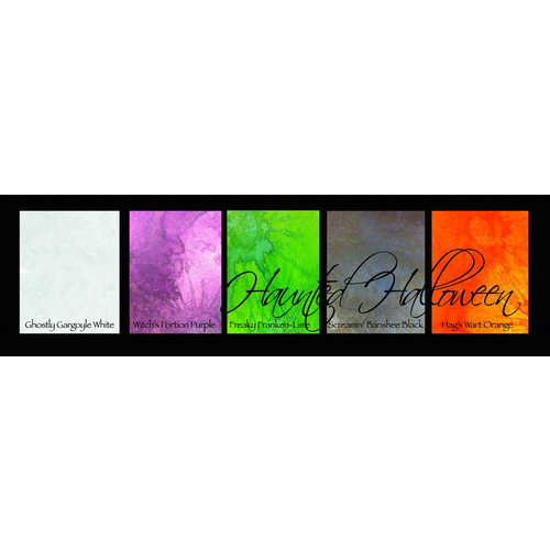 Lindy's Stamp Gang - Magical Set - Powdered Paint - Haunted Halloween