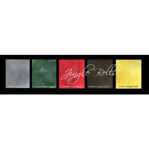 Lindy's Stamp Gang - Magical Set - Powdered Paint - Jingle Bells