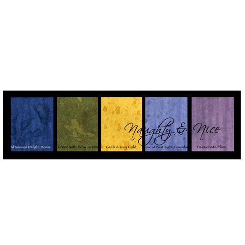 Lindy's Stamp Gang - Magical Set - Powdered Paint - Naughty and Nice