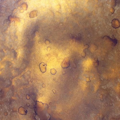 Lindy's Stamp Gang - Moon Shadow Pot - Powdered Ink - 2 Ounce Jar - Gossamer Gold