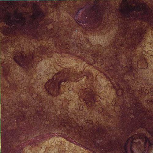 Lindy's Stamp Gang - Starburst Color Shot - 2 Ounce Jar - Cattail Copper Brown