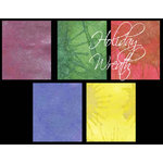 Lindy's Stamp Gang - Starburst Color Shot - Set - Holiday Wreath