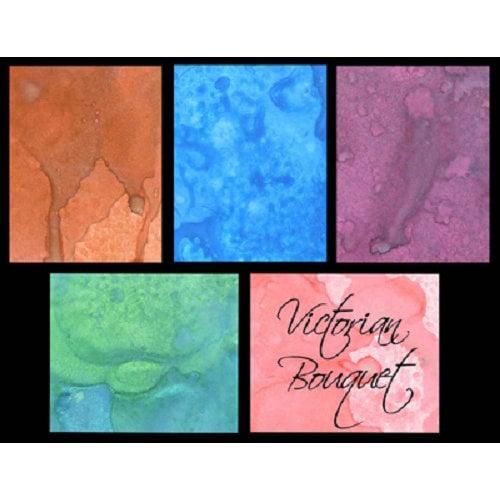 Lindy's Stamp Gang - Starburst Color Shot - Set - Victorian Bouquet