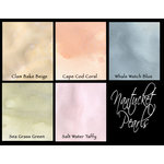 Lindy's Stamp Gang - Starburst Color Shot - Set - Nantucket Pearls