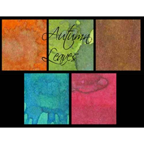 Lindy's Stamp Gang - Starburst Spray - Set - Autumn Leaves