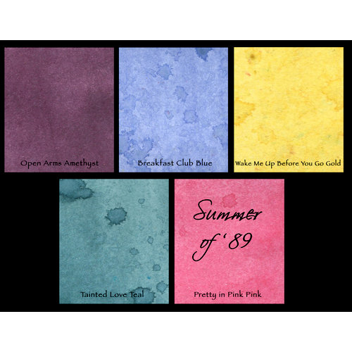 Lindy's Stamp Gang - Starburst Spray - Set - Summer of '89