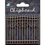 Little Birdie Crafts - Chipboard Pieces - Gate