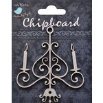Little Birdie Crafts - Chipboard Pieces - Chandelier