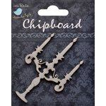 Little Birdie Crafts - Chipboard Pieces - Candelabra