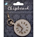 Little Birdie Crafts - Chipboard Pieces - Vintage Clock