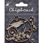 Little Birdie Crafts - Chipboard Pieces - Garden Bird