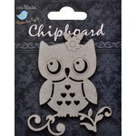 Little Birdie Crafts - Chipboard Pieces - Owl