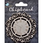 Little Birdie Crafts - Chipboard Pieces - Clock
