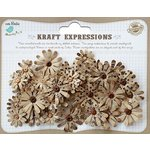 Little Birdie Crafts - Kraft Expressions Collection - Beaded Daisies