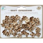 Little Birdie Crafts - Kraft Expressions Collection - Beaded Petites