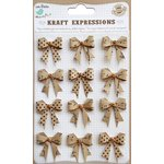 Little Birdie Crafts - Kraft Expressions Collection - Bows