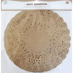 Little Birdie Crafts - Kraft Expressions Collection - Doilies - Ornate - 10 Inches