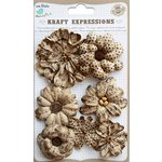 Little Birdie Crafts - Kraft Expressions Collection - Fusion Flowers
