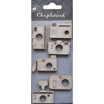 Little Birdie Crafts - Chipboard Pieces - Cameras