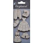 Little Birdie Crafts - Chipboard Pieces - Wedding