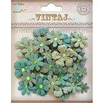 Little Birdie Crafts - Vintaj Collection - Tie Dye Gypsies - Rustic Teal