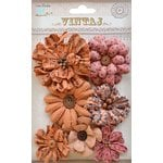 Little Birdie Crafts - Vintaj Collection - Symphony Flower - Rustic Blush
