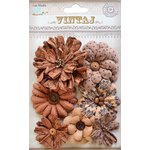 Little Birdie Crafts - Vintaj Collection - Symphony Flower - Rustic Earth