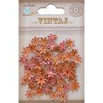 Little Birdie Crafts - Vintaj Collection - Jeweled Florettes - Micro - Rustic Blush