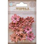 Little Birdie Crafts - Vintaj Collection - Star Flowers - Rustic Blush