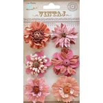 Little Birdie Crafts - Vintaj Collection - Fusion Blossoms - Rustic Blush
