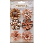 Little Birdie Crafts - Vintaj Collection - Fusion Blossoms - Rustic Earth