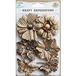 Little Birdie Crafts - Kraft Expressions Collection - Gardenia Flowers