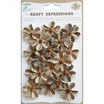 Little Birdie Crafts - Kraft Expressions Collection - Beaded Fancies