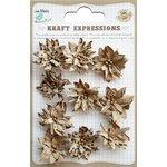 Little Birdie Crafts - Kraft Expressions Collection - Star Flowers