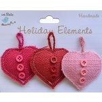 Little Birdie Crafts - Holiday Crafts Collection - Valentine - Puffy Hearts