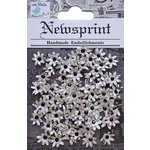 Little Birdie Crafts - Newsprint Collection - Micro Flowers